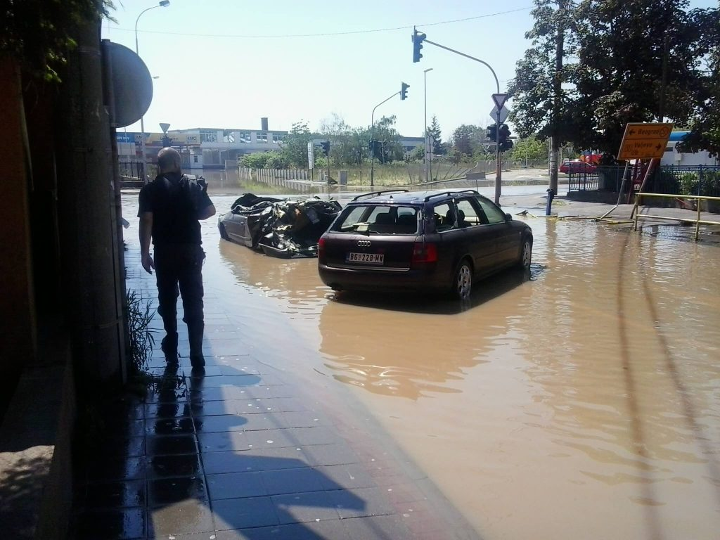 Slike poplave Obrenovac 2014